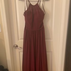Azazie Bridesmaid Dress in Cabernet